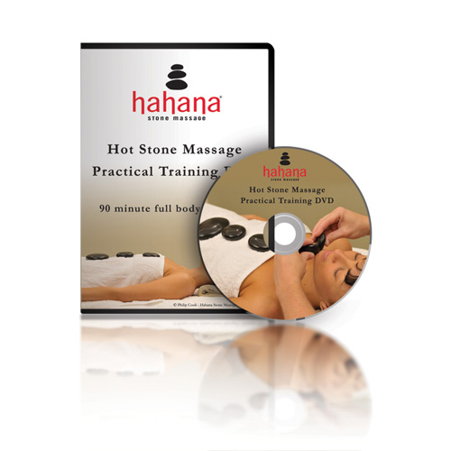 Hahana Hot Stone Massage Practical Training DVD