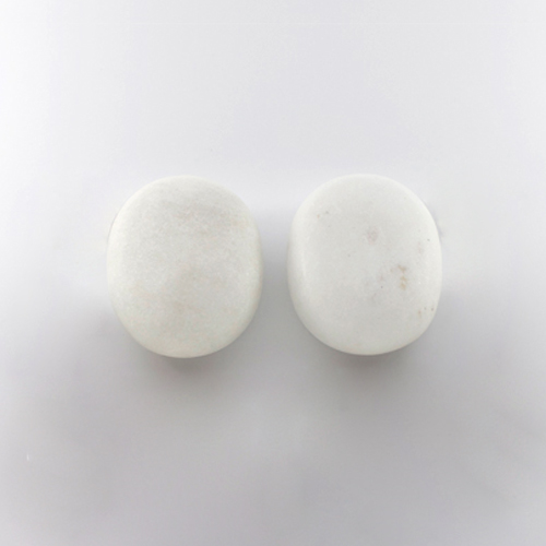 Medium Cold Stones - 2 Carved Marble Stones