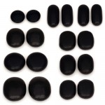 Mini Hot Stone Massage Kit - Hot Stone Massage (Carved Basalt Stones)