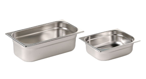 Stainless Steel Bowls x 2