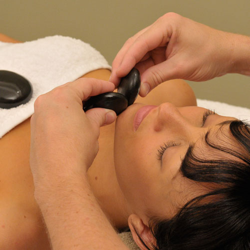 Hot stone massage for lower back pain-5611